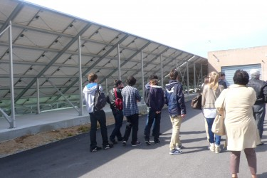 la visite du site myrte par une classe de 1ere S mars 2012